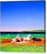 Sat Splash Canvas Print