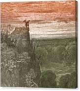 Satan, By Dore Canvas Print