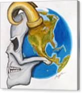 Satan's-cerebellum Canvas Print