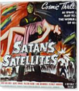 Satan's Satellites Canvas Print
