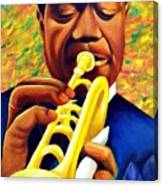 Satchmo, Louis Armstrong Painting Canvas Print