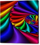 Satin Rainbow Canvas Print