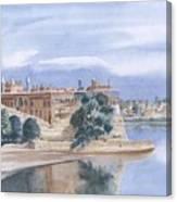 Sattaein Jo Aastan Canvas Print