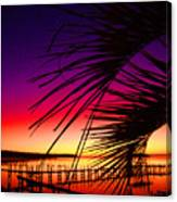 Saturated Sunrise Canvas Print