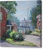 Saturday At Glen Williams On Canvas Print