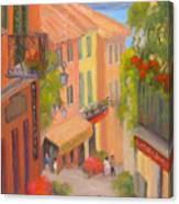 Saturday Stroll - Bellagio Canvas Print