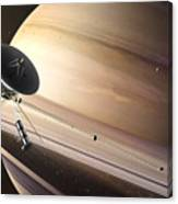 Saturn Flyby Canvas Print