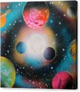 Saturn Galaxy Canvas Print
