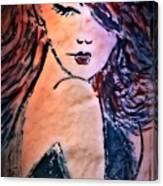 Saucy Lady Canvas Print
