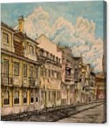 Saudade/ The Swallows Of Lisbon Canvas Print