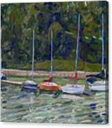 Saugeen Sails Canvas Print