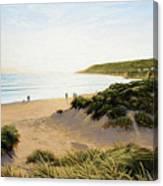 Saunton Beach Canvas Print