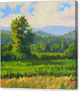 Sautee Vista Canvas Print