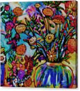 Sauvie Island Flowers Canvas Print