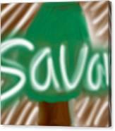 Savana Canvas Print