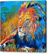Savanna King Canvas Print