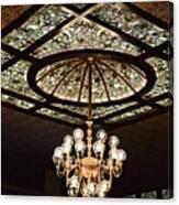 Savannah Antique Ceiling Canvas Print