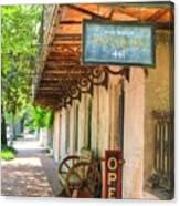 Savannah Antique Shop Canvas Print