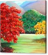Savannah Flamboyant Canvas Print