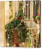 Savannah Porch Canvas Print