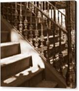 Savannah Sepia - Stairs Canvas Print