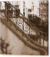 Savannah Sepia - Stoops Canvas Print