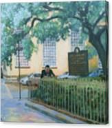 Savannah Shade Canvas Print