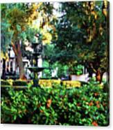Savannah Square Canvas Print
