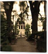 Savannah Square Canvas Print