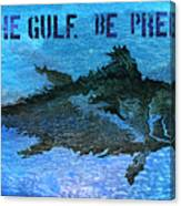 Save The Gulf America 2 Canvas Print