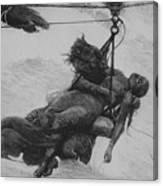 Saved, 1889 Canvas Print