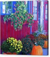 Savickis Market Canvas Print