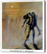Savior In A Storm Canvas Print