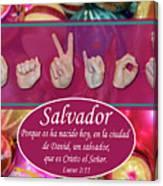 Savior Spanish Canvas Print