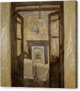 Savitri Guesthouse Canvas Print
