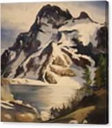 Sawtooth Mountain Lake Canvas Print