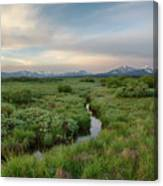 Sawtooth Valley II Canvas Print