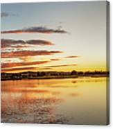 Sawyer Pond  Canvas Print