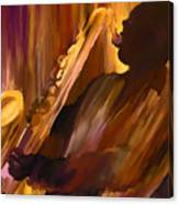 Sax And Soul Canvas Print