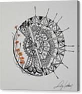 Saxifraga 'peter Pan' Canvas Print