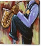 Saxman Canvas Print