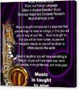 Saxophone Photographs Or Pictures For T-shirts Why Music 4819.02 Canvas Print