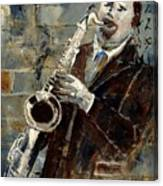 Saxplayer 570120 Canvas Print