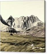 Sayan Landscape Canvas Print