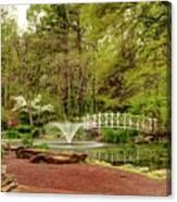 Sayen Gardens Bridge Series Canvas Print