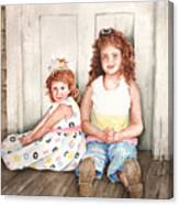 Sayler And Tayzlee Canvas Print