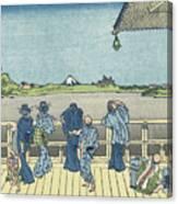 Sazai Hall Of The Five Canvas Print