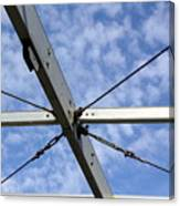 Scaffolding Sky View Canvas Print