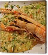Scampi Risotto Canvas Print