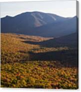 Scar Ridge Autumn Canvas Print